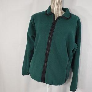 REI POLARTEC Green Fleece Jacket